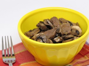 Beef and Mushrooms (Crock Pot)