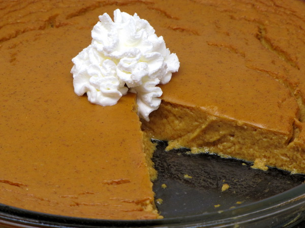 Naked Pumpkin Pie