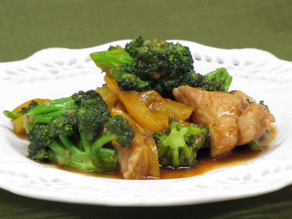 Orange Pork and Broccoli