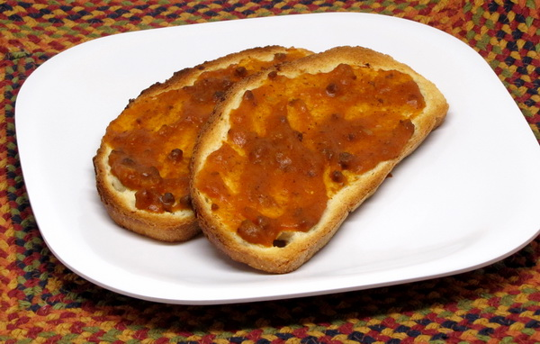 Grilled Bread with Sofrito