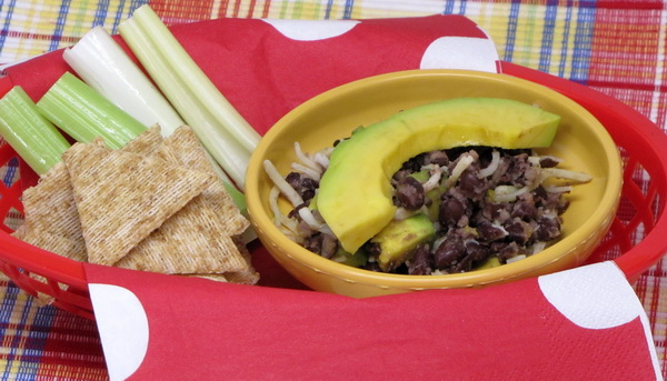 Black Bean Dip with Avocado