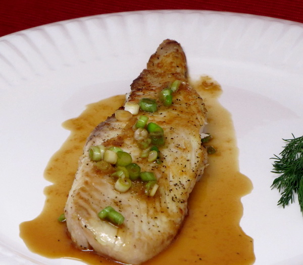 Honey Tilapia