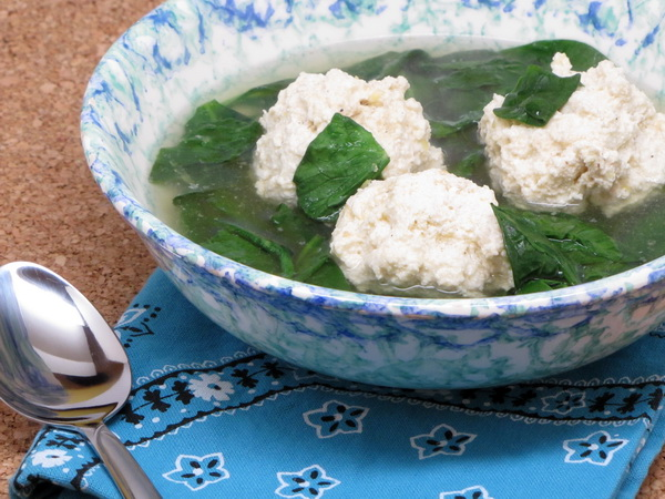 Ricotta Ball Soup