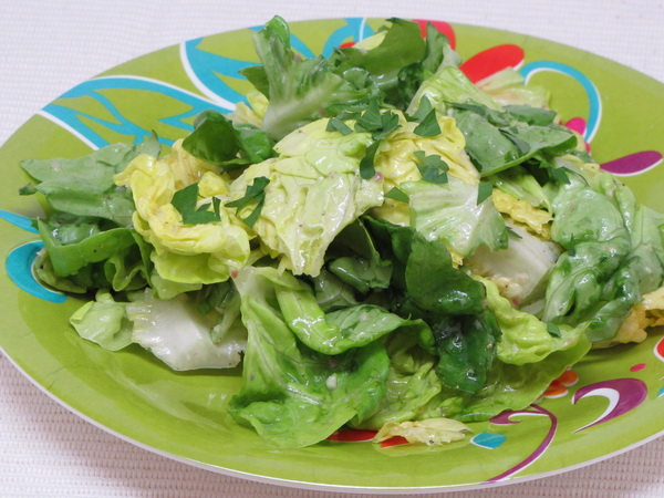 Anchovy and Bibb Lettuce