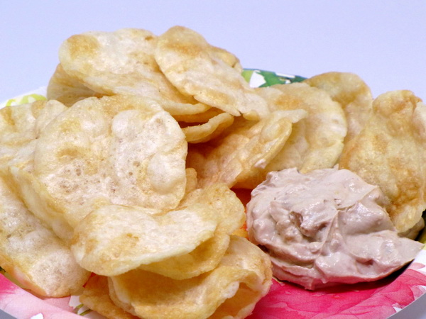 Pop Chips and Dip