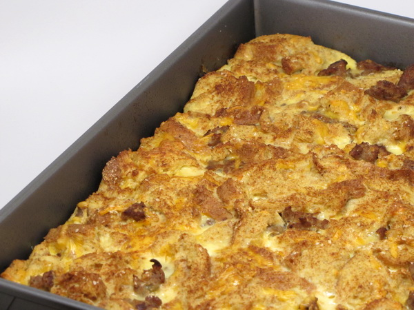 Sausage and Cheddar Casserole