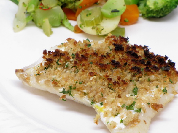 Lemon and Herb Cod