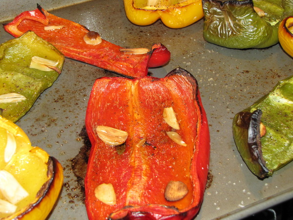 Roasted Peppers and Garlic