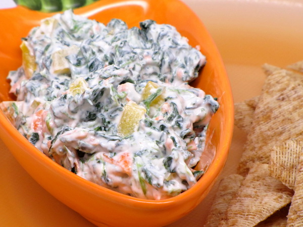 Spinach and Ranch Snack