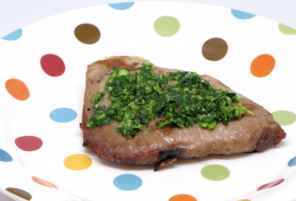 Tuna with Gremolata