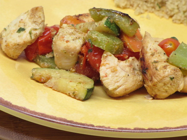 Curry Lime Chicken Kabobs