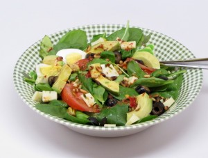 Southwest Spinach Salad