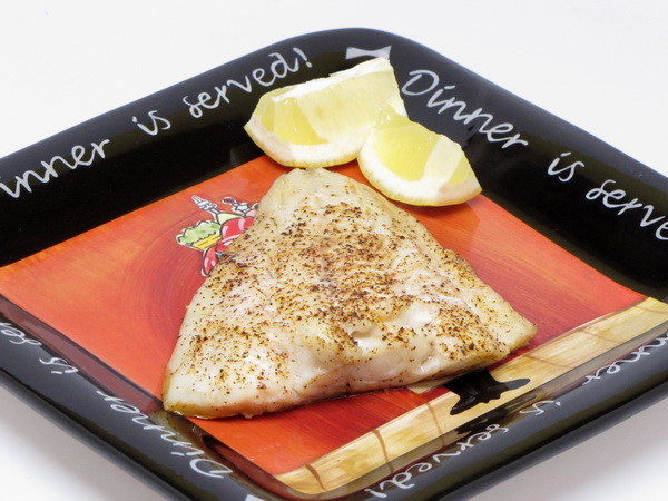 Broiled Cod with Chili Powder