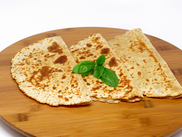 Golden Gruyere Quesadillas