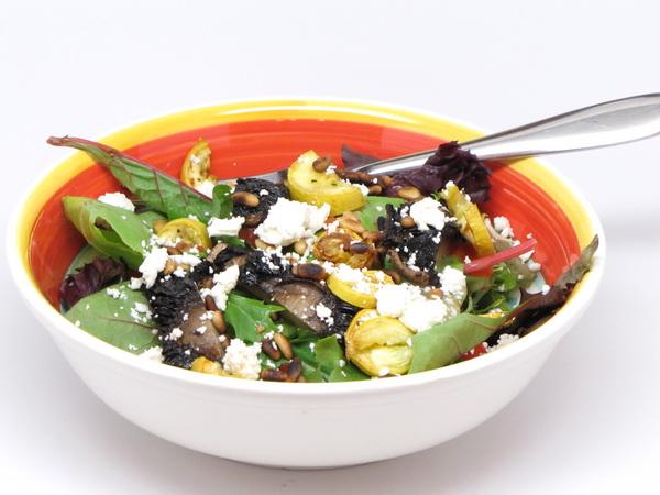 Mushroom and Feta Salad