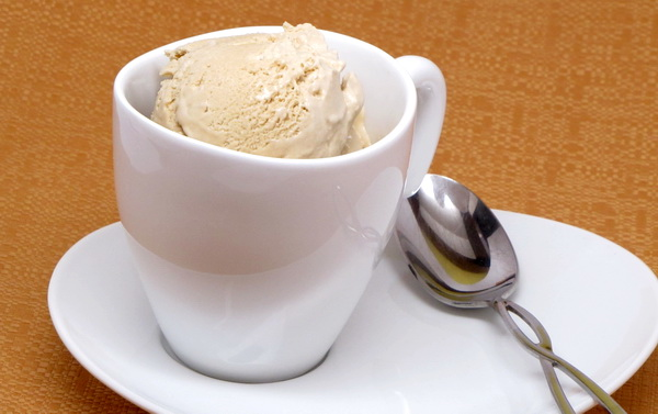 Coffee Soft Serve Ice Cream
