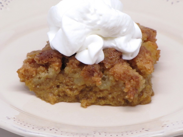 Pumpkin Cobbler | 400 Calories or Less