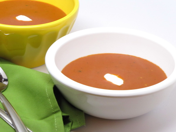 Roasted Tomato Parmesan Bisque