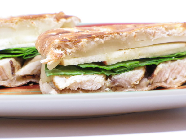 Chicken Panini with Swiss
