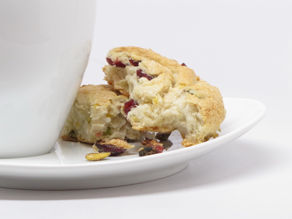 Cranberry Nut Scones