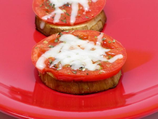 Eggplant Tomato Rounds