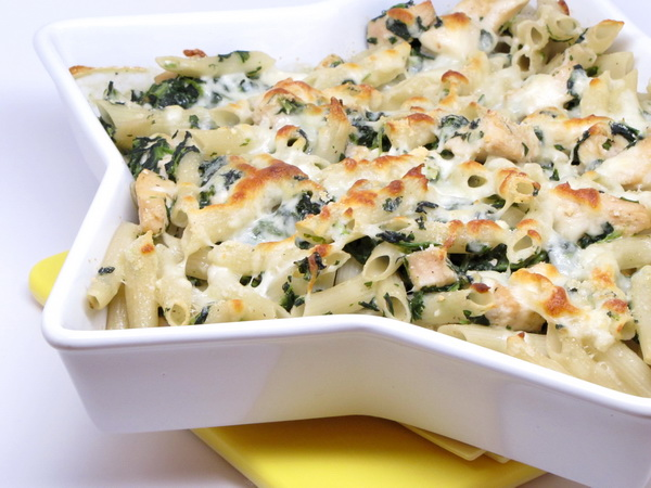 Chicken Florentine Casserole
