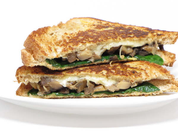 Grilled Mushroom and Gruyere