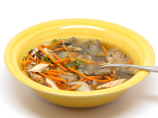 Asian Turkey Soup