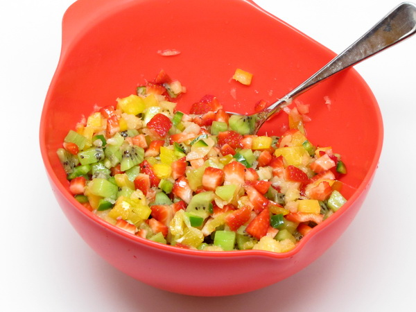Fruit Salsa Recipe — Dishmaps