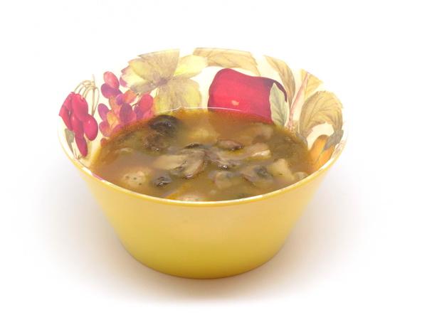Meatball and Mushroom Soup (Crock Pot)