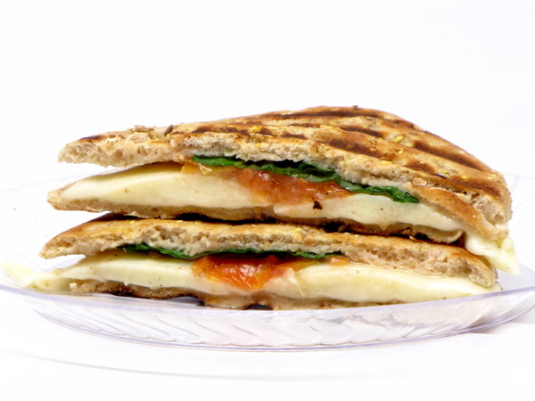 Tomato and Mozz Panini