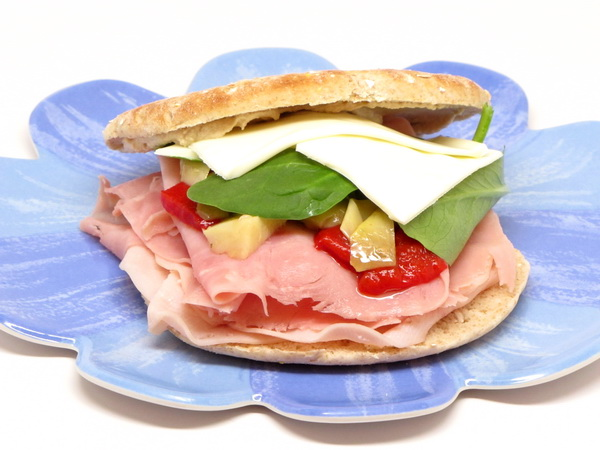 Ham and Swiss with Tangy Sauce