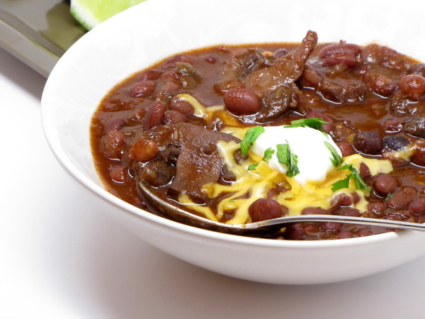 Black Bean Chili (Crock Pot)