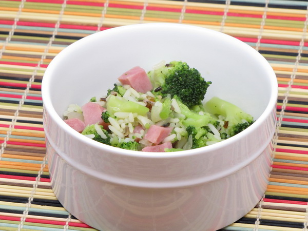 Ham, Broccoli and Rice