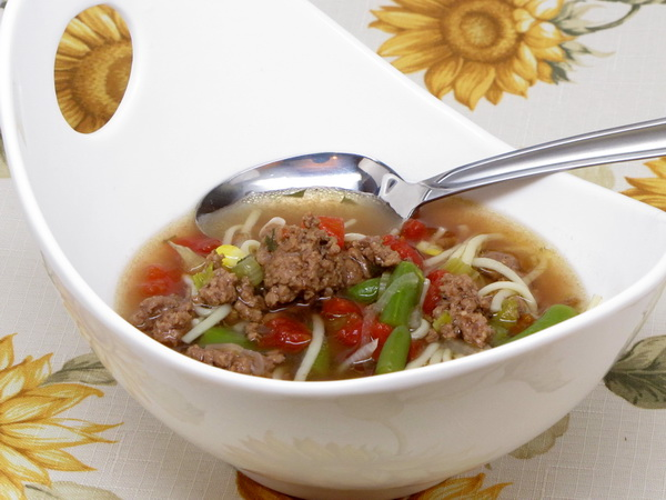Hamburger Soup (Crock Pot)