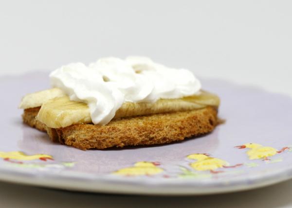 Rum Glazed Banana Tarts