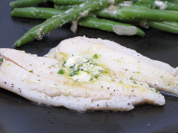 Tilapia with Ginger Butter
