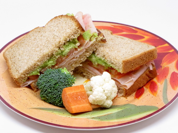 Turkey Sandwich with Guac