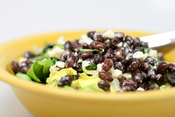 Black Bean and Feta Salad