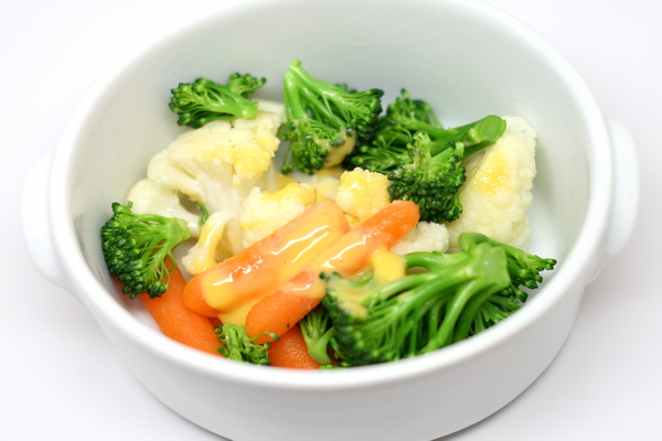 Veggies in Cheese Sauce