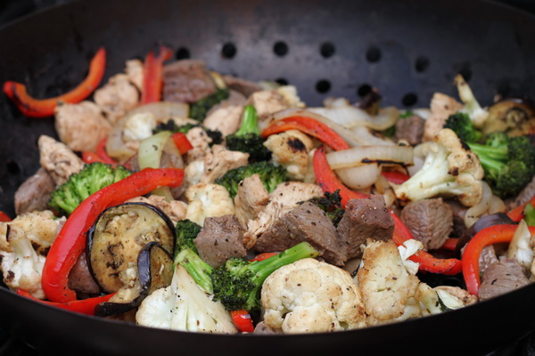 Stir-Fry on the Grill