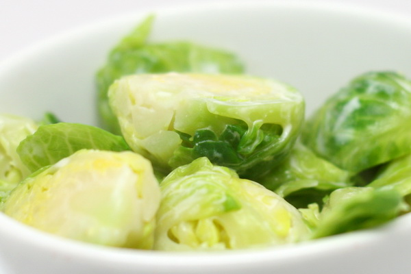 Lemony Brussel Sprouts