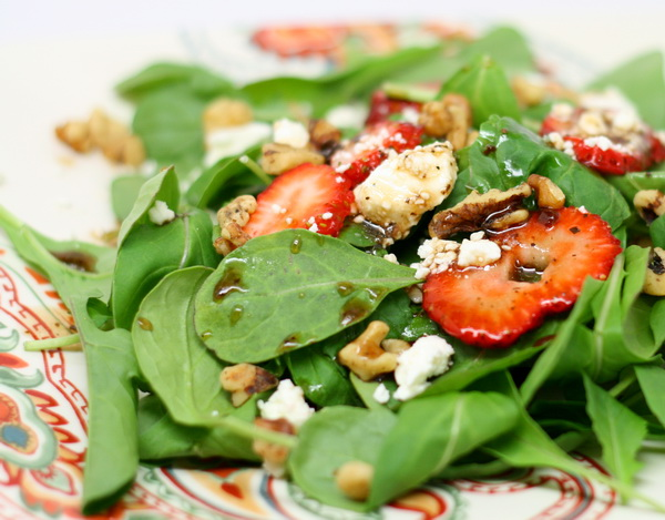 Strawberry And Feta Salad Recipe — Dishmaps