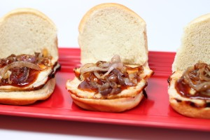 Grilled Pork Sliders