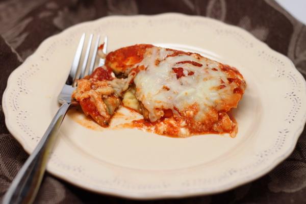 Skinny Eggplant Lasagna