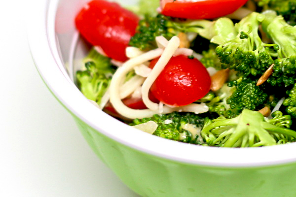 Broccoli Tomato Side Salad