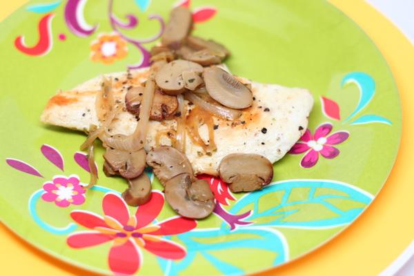 Mushroom Herb Chicken