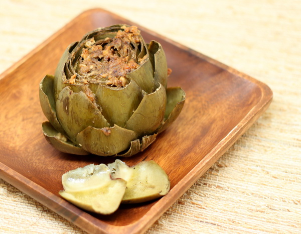 Stuffed Artichokes (Pressure Cooker)