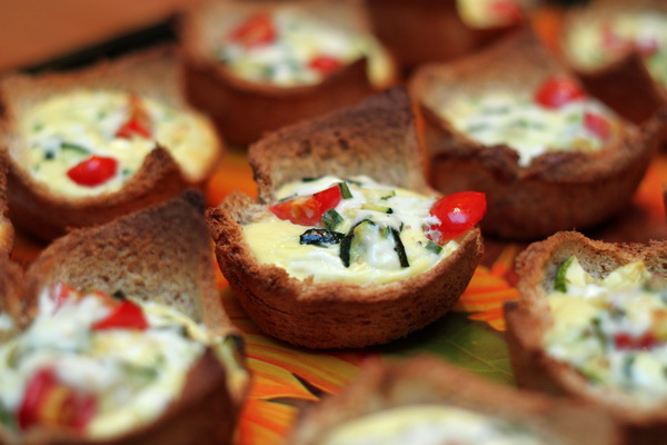 Zucchini Quiche Cups