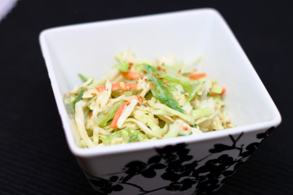 Asian Sesame Slaw